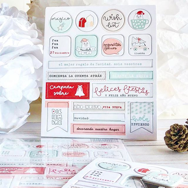 Pinkfresh - December Days Cardstock