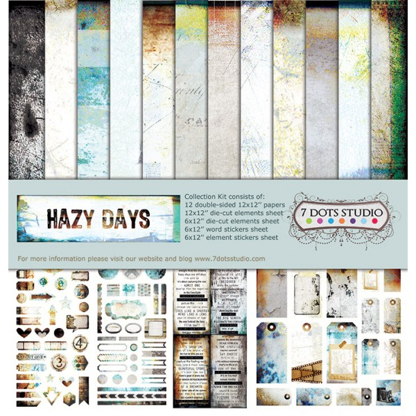 7 Dots Studio - Hazy Days Kit