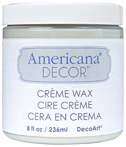Cream Wax Clear 8 oz