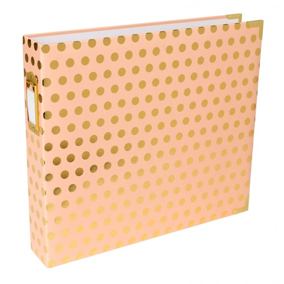 Project life album 30,5x30,5 cm blush gold dot
