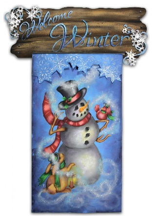 Welcome Winter Banner